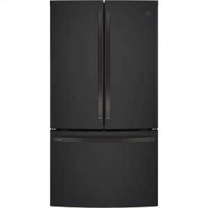 GE ProfileGE PROFILEGE Profile™ Series ENERGY STAR® 23.1 Cu. Ft. Counter-Depth French-Door Refrigerator
