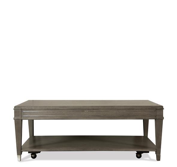 Dara II Rectangular Coffee Table Gray Wash Finish