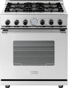 "Range NEXT 30"" Classic Stainless steel 4 gas, gas oven"