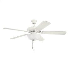 """52"""" Basics Select Collection 52 Inch Kichler Basics Select Ceiling Fan SNW"""