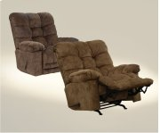 Chaise Rocker Recl w/Xtra Comfort - Chestnut Product Image