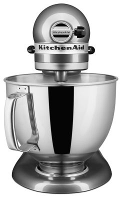 Artisan® Series 5 Quart Tilt Head Stand Mixer   Silver Metallic