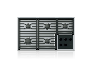 "Wolf36"" Transitional Gas Cooktop - 5 Burners"