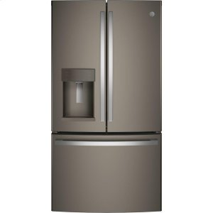 GE® ENERGY STAR® 27.7 Cu. Ft. French-Door Refrigerator - SLATE