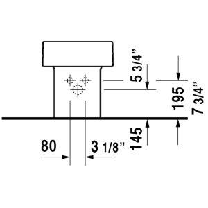 Vero Bidet Floorstanding Null