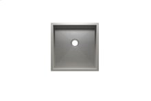 "UrbanEdge® 003613 - undermount stainless steel Bar sink , 15"" × 15"" × 7"""