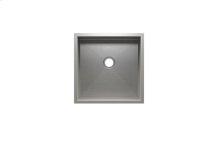 "UrbanEdge® 003613 - undermount stainless steel Bar sink , 15"" × 15"" × 7"""