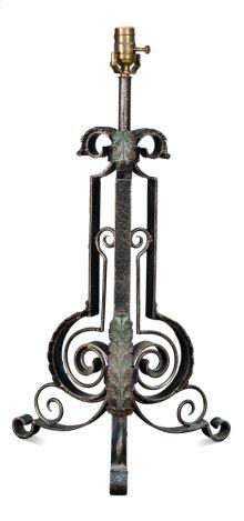 Ornate Wrought Iron Lamp Body