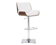 Kinley Adjustable Barstool - Snow