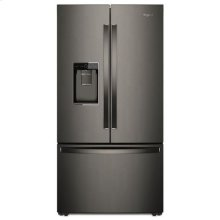 Whirlpool® 36-inch Wide French Door-within-Door Refrigerator with Cold Space - 31 cu. ft. - Print Resist Blk Stnlss