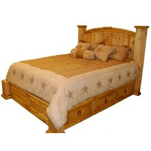 King Mansions Storage Bed (king)