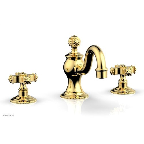 MARVELLE Widespread Faucet 162-01 - Polished Gold