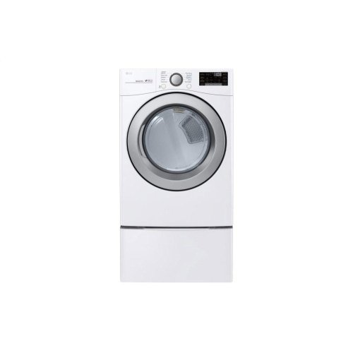 7.4 cu. ft. Ultra Large Capacity Smart wi-fi Enabled Electric Dryer