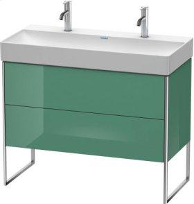 Vanity Unit Floorstanding, For Durasquare # 235310jade High Gloss Lacquer