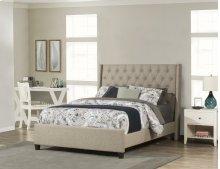Churchill King Bed - Natural Herringbone