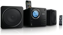 Cube micro sound system
