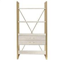 Latitude Bookcase - Oyster