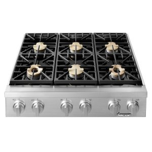 "Dacor36"" Heritage Range Top-SS Liquid Propane"