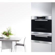 "30"" ESW 4826 Europa Black Glass & Clean Touch Steel Warming Drawer - ESW 4826 Warming Drawer Europa"