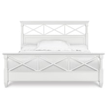 Complete King Panel Bed