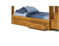 Heartland Under Bed Two Drawer Storage with options: Honey Pine Product Image