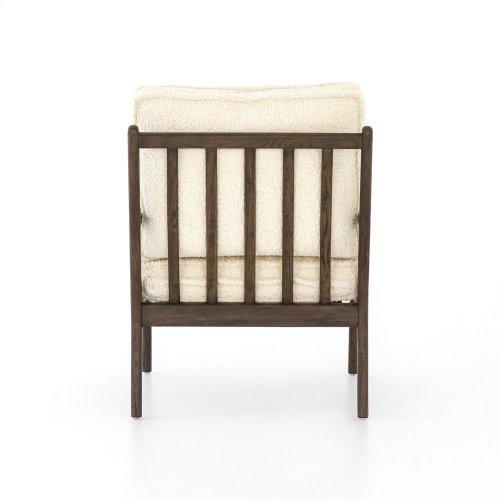 Norris Occasional Chair-sheepskin Natura