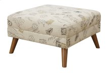 Square Cocktail Ottoman Print