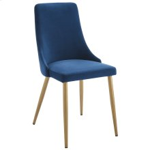 Carmilla Side Chair, set of 2, in Blue