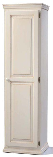 Solid Pine 1 Door Pantry Cabinet