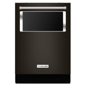 KITCHENAID44 dBA Dishwasher with Window and Lighted Interior - Black Stainless