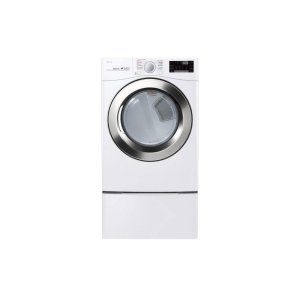 7.4 cu. ft. Ultra Large Capacity Smart wi-fi Enabled SteamDryer - WHITE