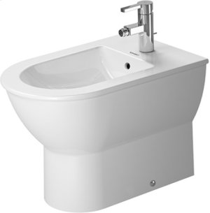 White Darling New Bidet Floorstanding Product Image