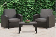3-pcs Outdoor Set