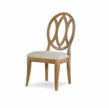 Oval Back Side Chair - Nutmeg