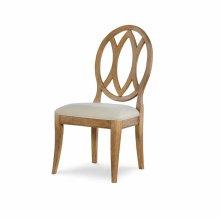 Oval Back Side Chair - Nutmeg