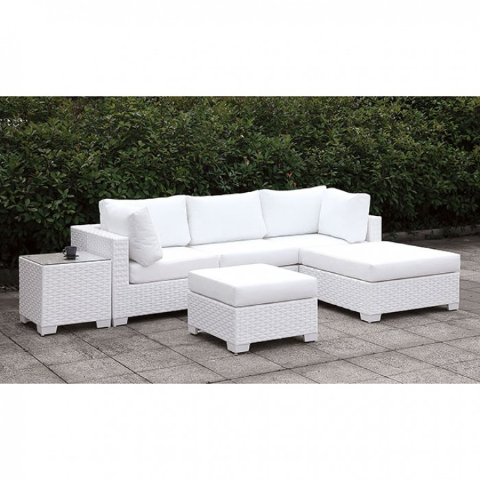 Somani Ii Small L Sectional W/ Right Chaise + Ottoman