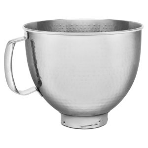 Kitchenaid5 Quart Tilt Head Hammered Stainless Steel Bowl