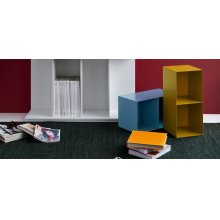 Bookcase removable container