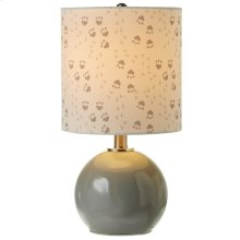 Accent Lamp with Animal Track Shade. 40W Max.