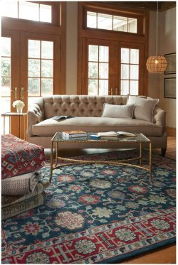 Legacy-Keshan Blue Red