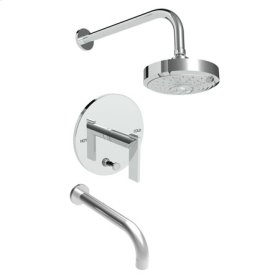 Gun Metal Balanced Pressure Tub & Shower Trim Set
