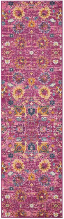 Passion Psn01 Fuchsia Runner 2'2'' X 7'6''