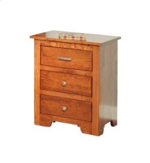 Sundance 3-Drawer Nightstand