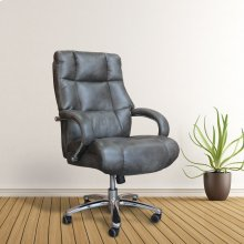 DC#300HD Ash Fabric Heavy Duty Desk Chair - 500 lb.
