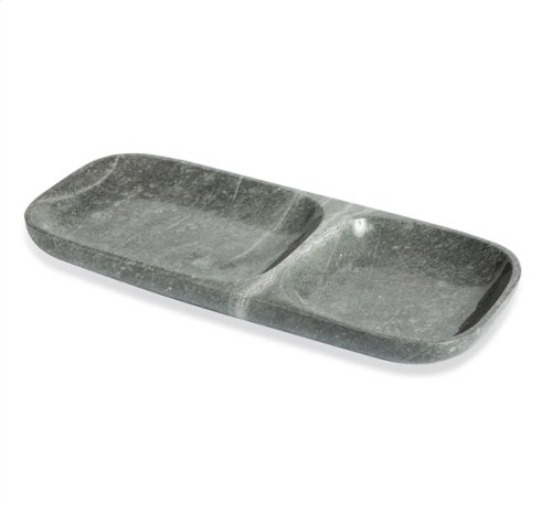 Harlow Dual Section Tray - Grey