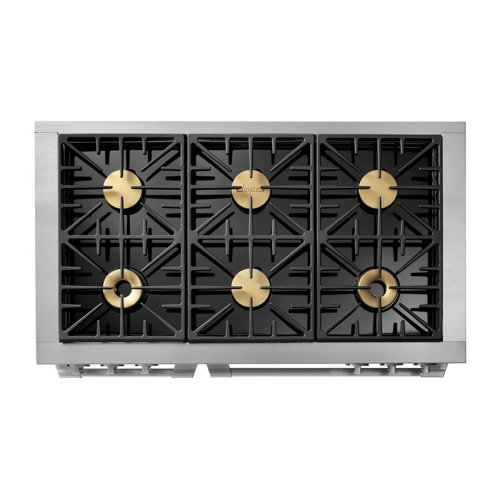 "48"" Heritage Dual Fuel Epicure Range, DacorMatch Natural Gas/High Altitude"