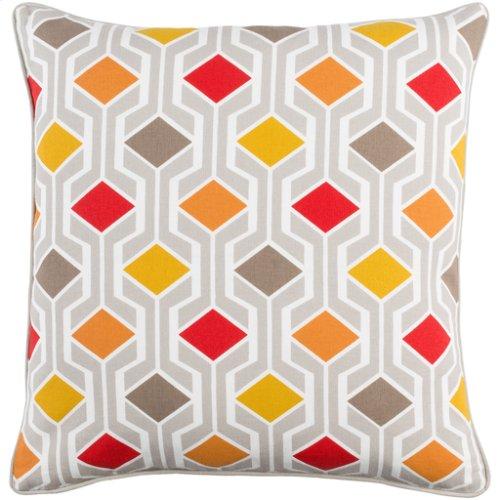 "Inga INGA-7030 18"" x 18"" Pillow Shell with Down Insert"