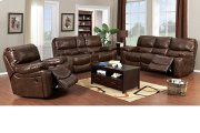Ramsey Cognac Leather Reclining Set, ML9055 Product Image