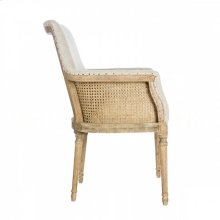 Moss Linen Dining Chair