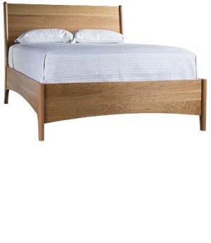 Brancusi Sleigh Bed - Double